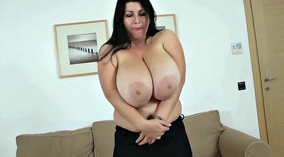 Huge boobs, Chubby milf