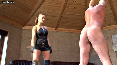 Whipping, Whip, Hard spanking, Femdom mistress