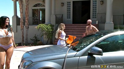 Romi rain, Johnny sins, Rain, Car, Johnny, While