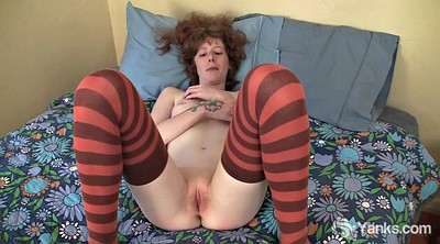 Stacy v, Stacy, Redhead amateur