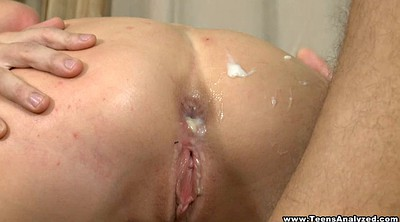 Big ass creampie, First time anal