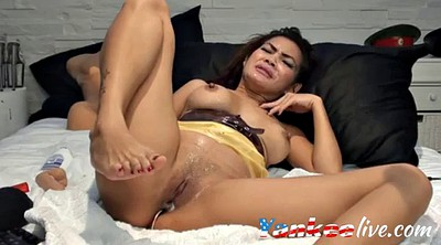 Asian solo dildo