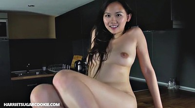 Kitchen, Busty asian