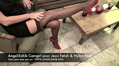 Nylon feet, Nylon foot, Legs