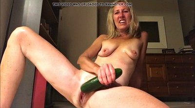 Gaping, Gay orgasm, Cucumber