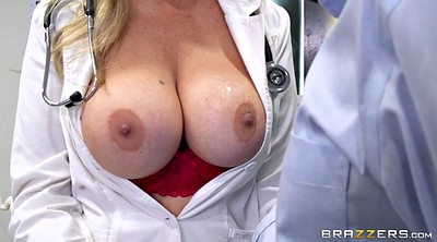 Julia ann, Doctor, Ann, Ejaculation, Blonde milf, Ejaculate