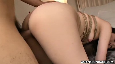 Missionary creampie, Tied, Aoi, Asian pee, Tied asian, Tied tits