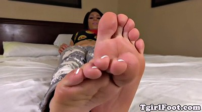 Shemale foot, Tgirl