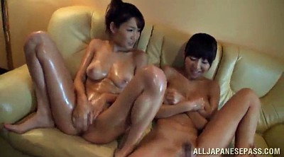 Hairy, Japanese group, Group sex, Japanese orgasm, Japanese oil