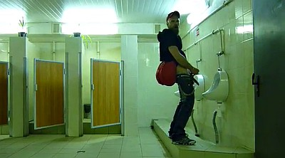 Toilet, Amateur, Toilet masturbation, Stroke, Public toilet, Gay toilet