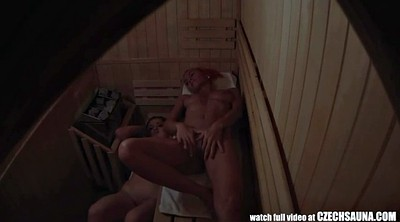 Beauty, Sauna, Figure, Spying