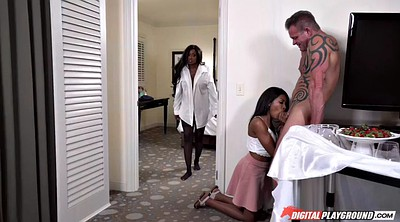 Black, Interracial creampie, Diamond jackson