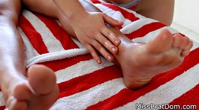 Young girl, Massage girl, Young lesbian