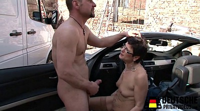 German mature, Mature cumshot