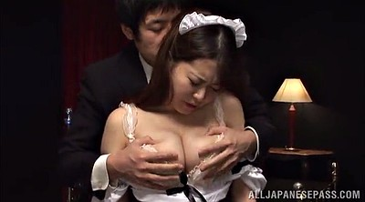 Panty, Big tits maid, Asian maid