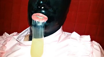 Drink, Mask, Gimp, Masked, Drinking