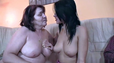 Old couple, Old group, Horny milf, Group granny