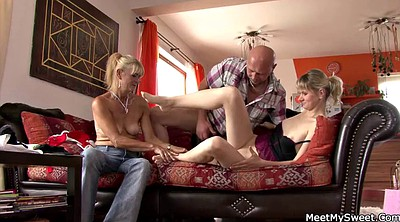 Old milf, Mom and, Young and old