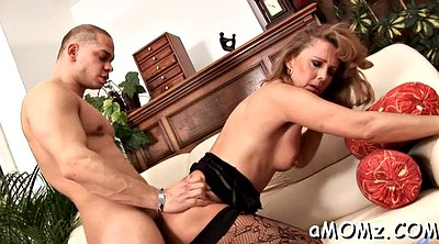Deepthroat, Mom riding, Mature deepthroat