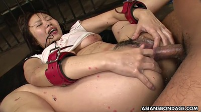 Japanese bdsm, Japanese bondage, Water, Hairy creampie, Humiliated, Asian creampie gangbang