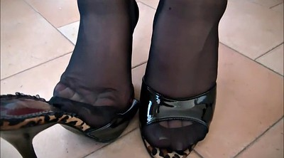 Nylon feet, Nylon foot, Nylons, Footing, Sexy nylons, Foot nylon