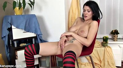 Teens, Tits play, Finger play