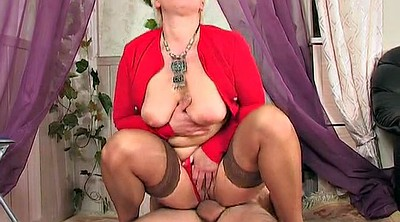 Russian mature, Young milf