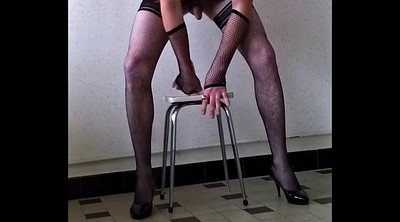 Crossdresser, Slave, Trained, Gay slave