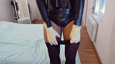 Sound, Sounds, Plugged, Latex sex, Cuffs
