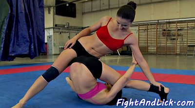 Fight, Wrestling, Tit fight, Oral, Lesbian fight, Fighting