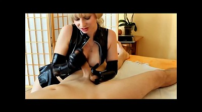 Latex, Gloves, Latex femdom, Latex gloves