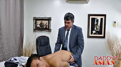 Boss, Asian daddy, Jap gay