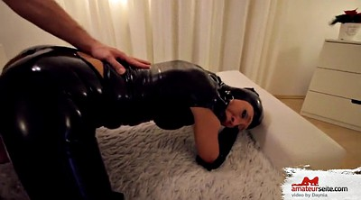 German creampie, Creampied, Anal latex