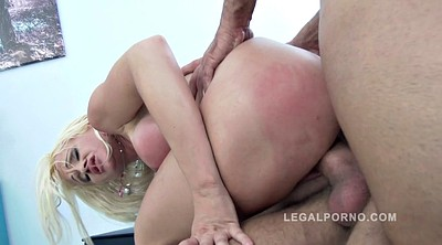 Double anal, Fucked, Face fucking