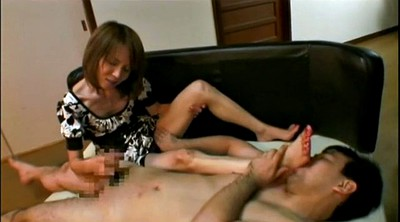 Asian foot, Asian feet, Mature asian, Mature handjob, Feet mature