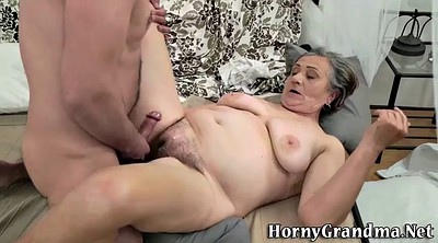 Hairy mature, Bang, Granny masturbating