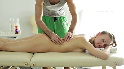 Massage, Young girl, Nice
