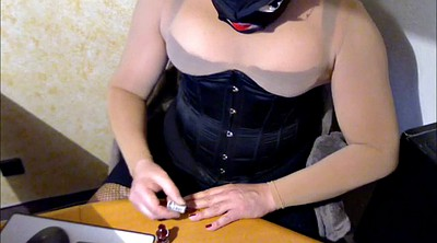 Gay bdsm, Ebony bdsm, Sheer, Corset