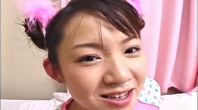 Japanese gangbang, Cute girl
