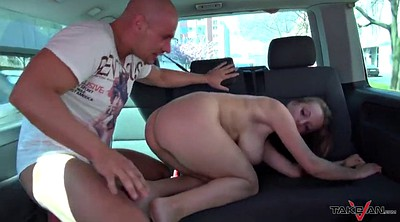 Taxi, Bouncing boobs, Natural boobs, Natural big tits, Monster boobs
