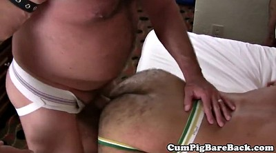 Creampie mature, Bear fuck