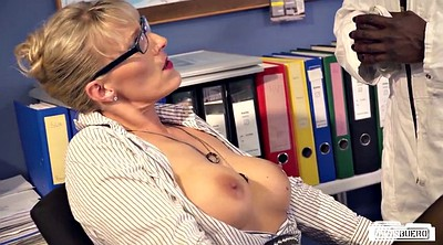 Secretary, Bbc milf, Big tits german, Secretary milf, Office secretary, Blonde bbc