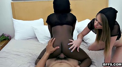 Sick, Ebony facial, Throat fuck