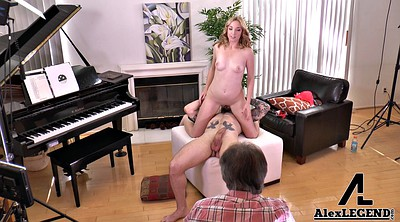 Teen, Granny big tits, Old couple, Granny blowjobs