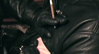 Leather femdom, Leather