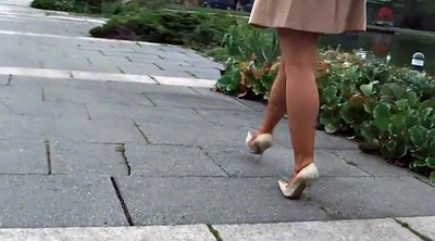 High heels, Outdoor, Stiletto