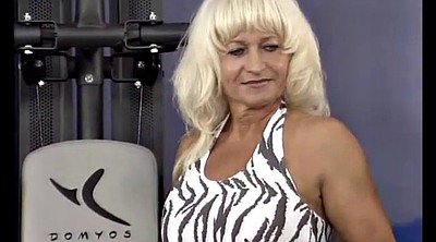 Grannies, German milf, German mature, Muscle milf, Mothers, Big mother