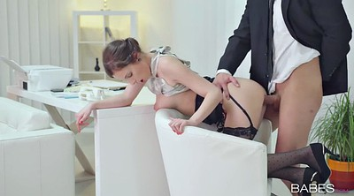 Smoking blowjob, Secretary