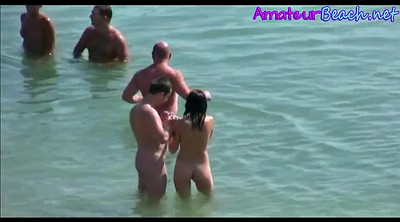 Compilation, Public, Beach, Nudist, Public beach