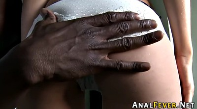 Riding, Ebony anal hd